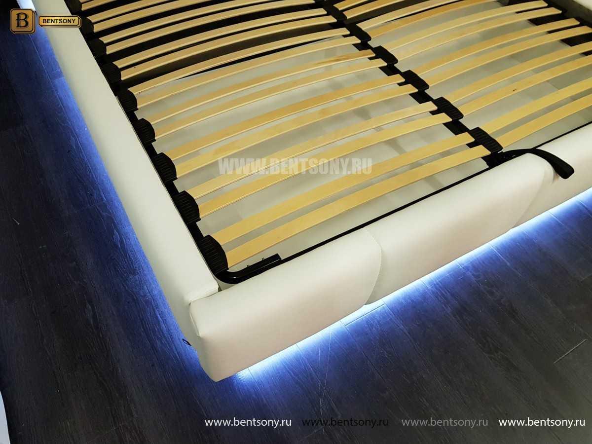 Кровать Адриана (Подъемный механизм, Подсветка) купить в Москве