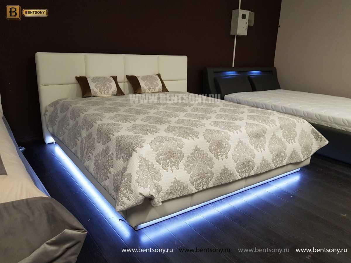Кровать Адриана (Подъемный механизм, Подсветка) распродажа