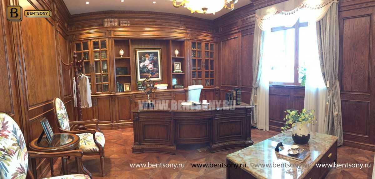Письменный стол Монтана большой (классика, массив дерева) магазин Москва