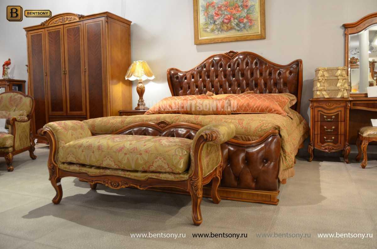 Оттоманка Флетчер В классическая (Ткань) каталог мебели с ценами