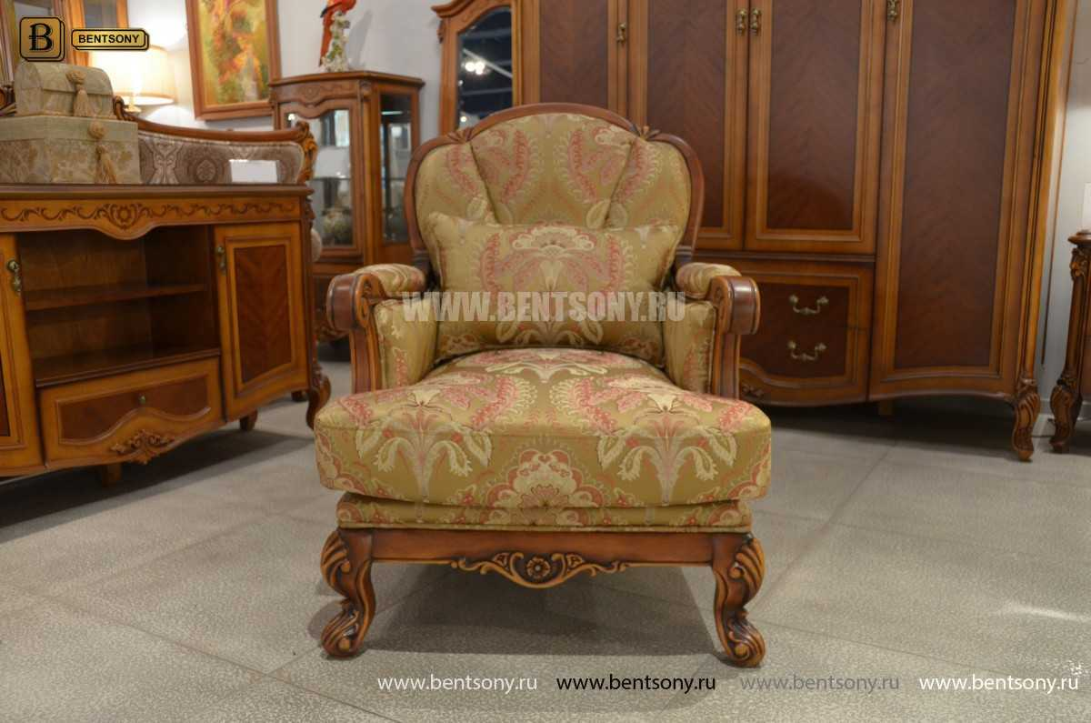 Кресло для отдыха Флетчер (Классика, Ткань) каталог мебели с ценами