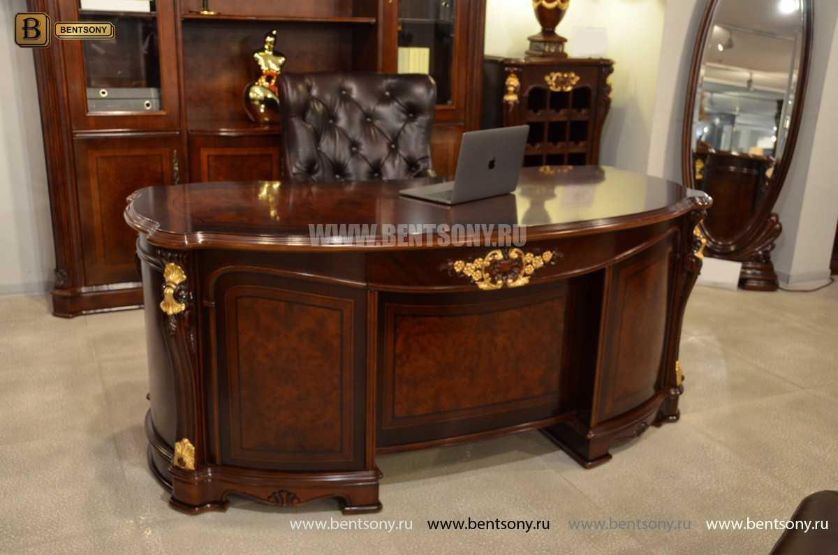 Письменный стол Вагнер А (Массив дерева, Классика) сайт цены