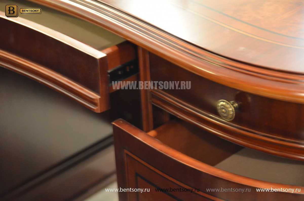 Письменный стол Вагнер А (Массив дерева, Классика) для квартиры