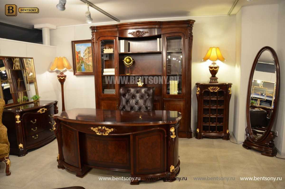 Письменный стол Вагнер А (Массив дерева, Классика) для дома
