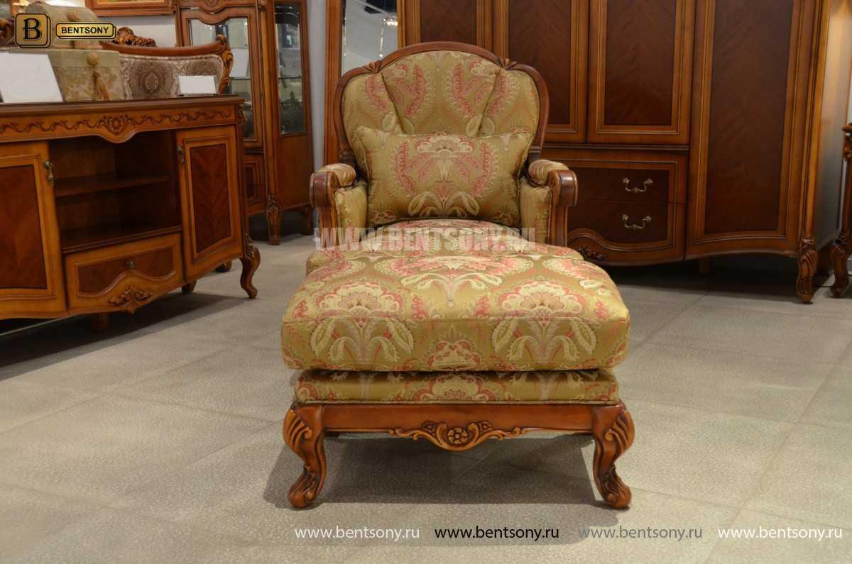 Пуф Флетчер (Классика, Ткань) каталог мебели с ценами