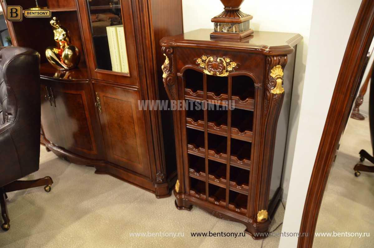 Полка для вина Вагнер (Классика, Винный шкаф)