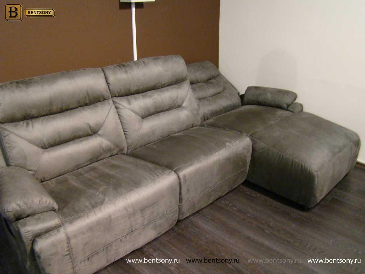 угловой диван Амелия в гостиной фото