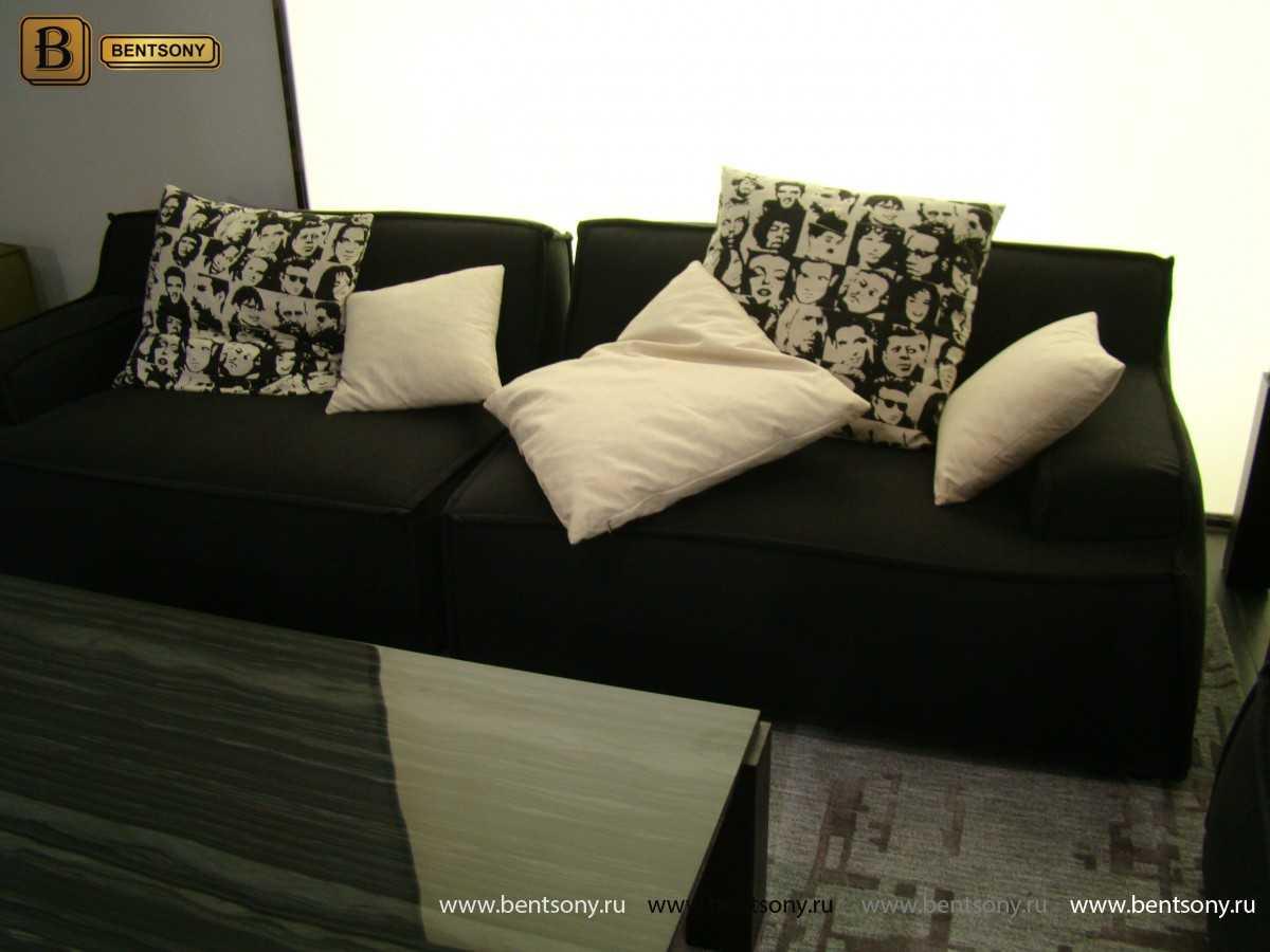 мебель в гостинную черная Галардо
