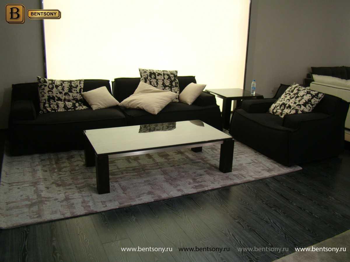 диван черный Галардо купить москва