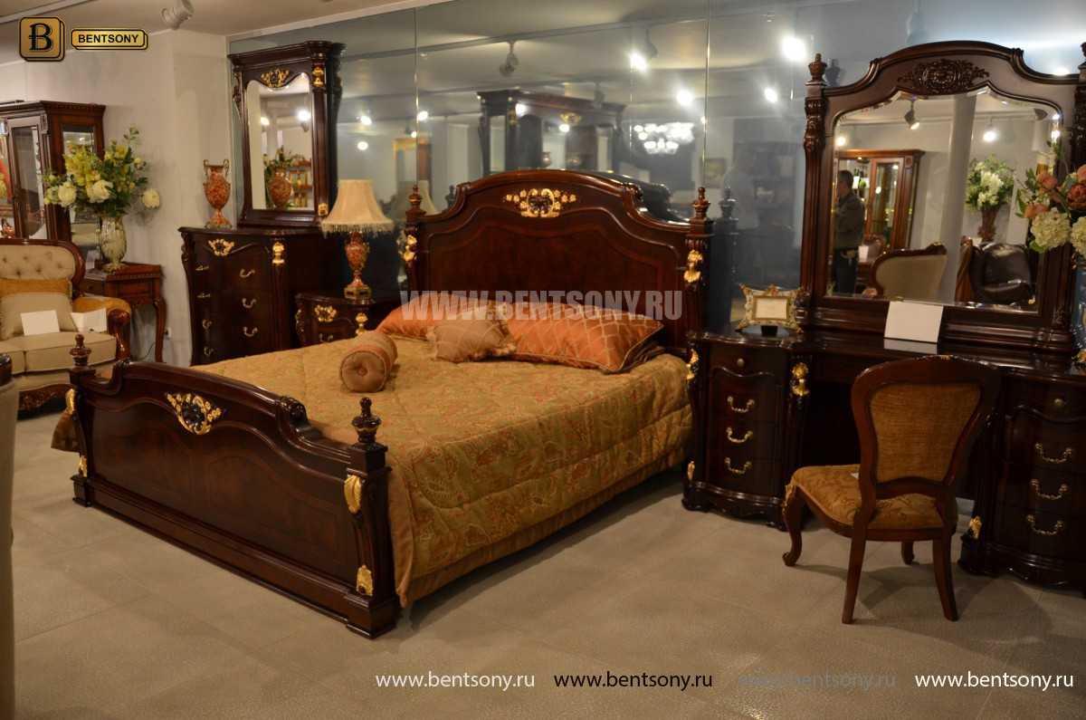Кровать Вагнер А (Классика, Массив дерева) для загородного дома