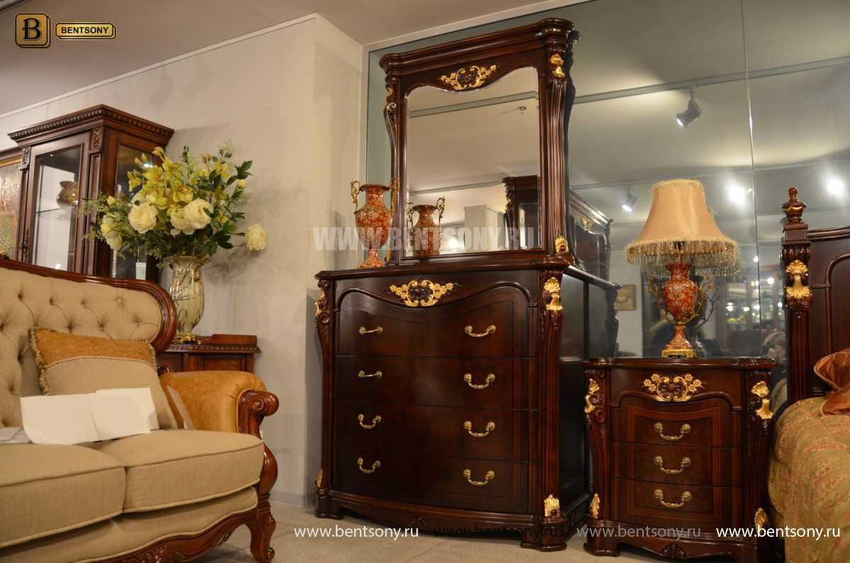 Комод классический Вагнер В (Массив дерева) для квартиры
