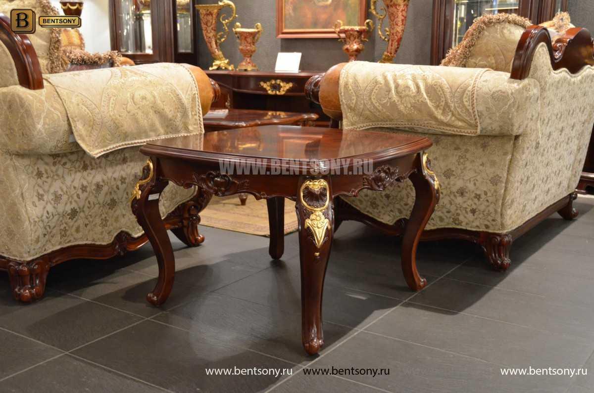 Стол журнальный Вагнер А маленький (Массив дерева) каталог мебели с ценами