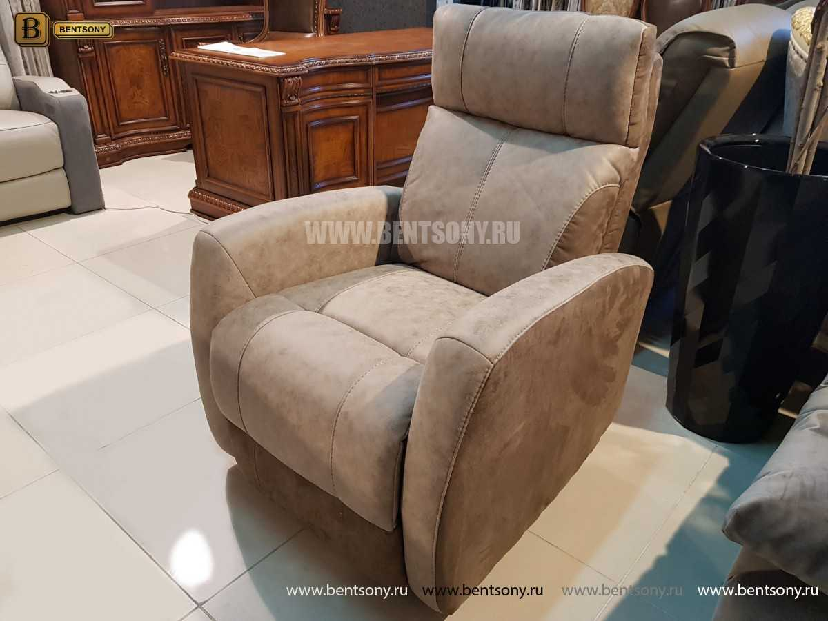 Кресло Эдвард (Реклайнер, Алькантара) купить в СПб
