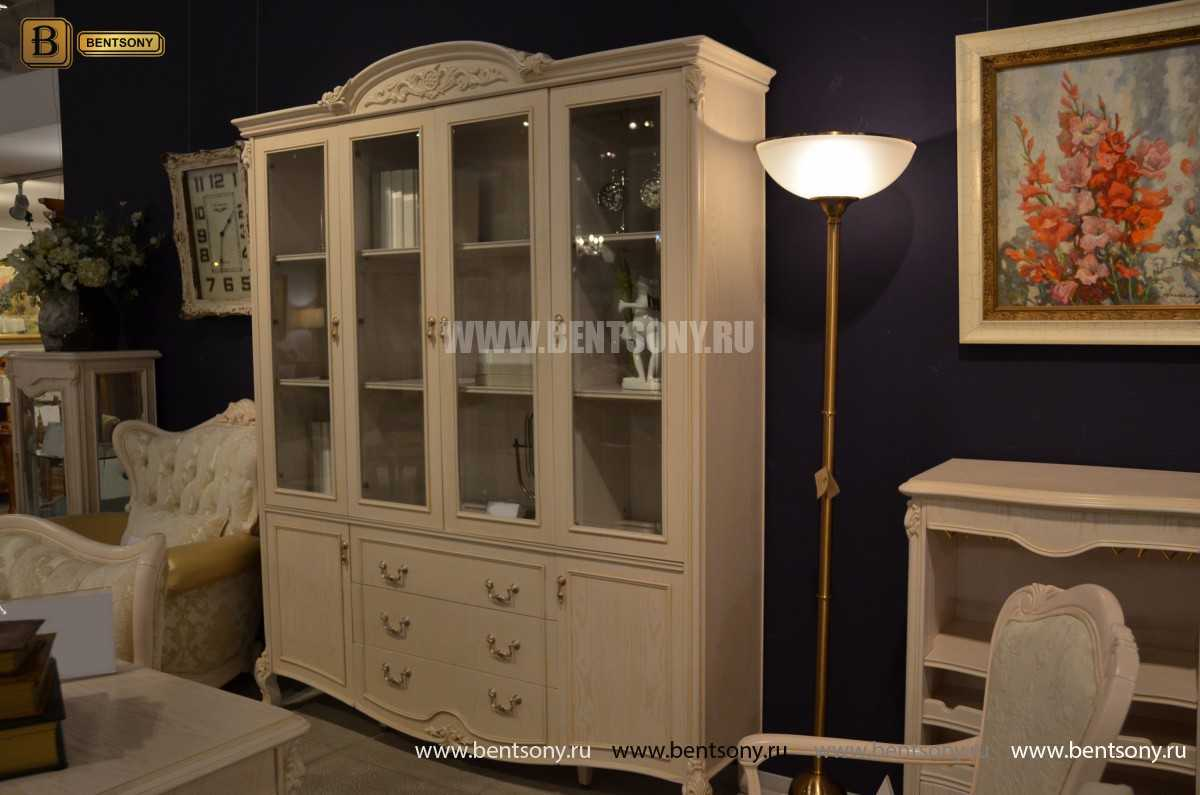 Кабинет Флетчер-W (Классика, массив дерева) каталог мебели с ценами