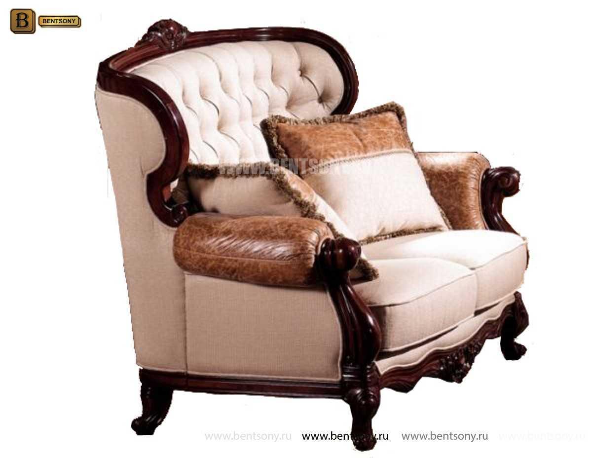 Кресло Вагнер А классическое (Подлокотники кожа) фото