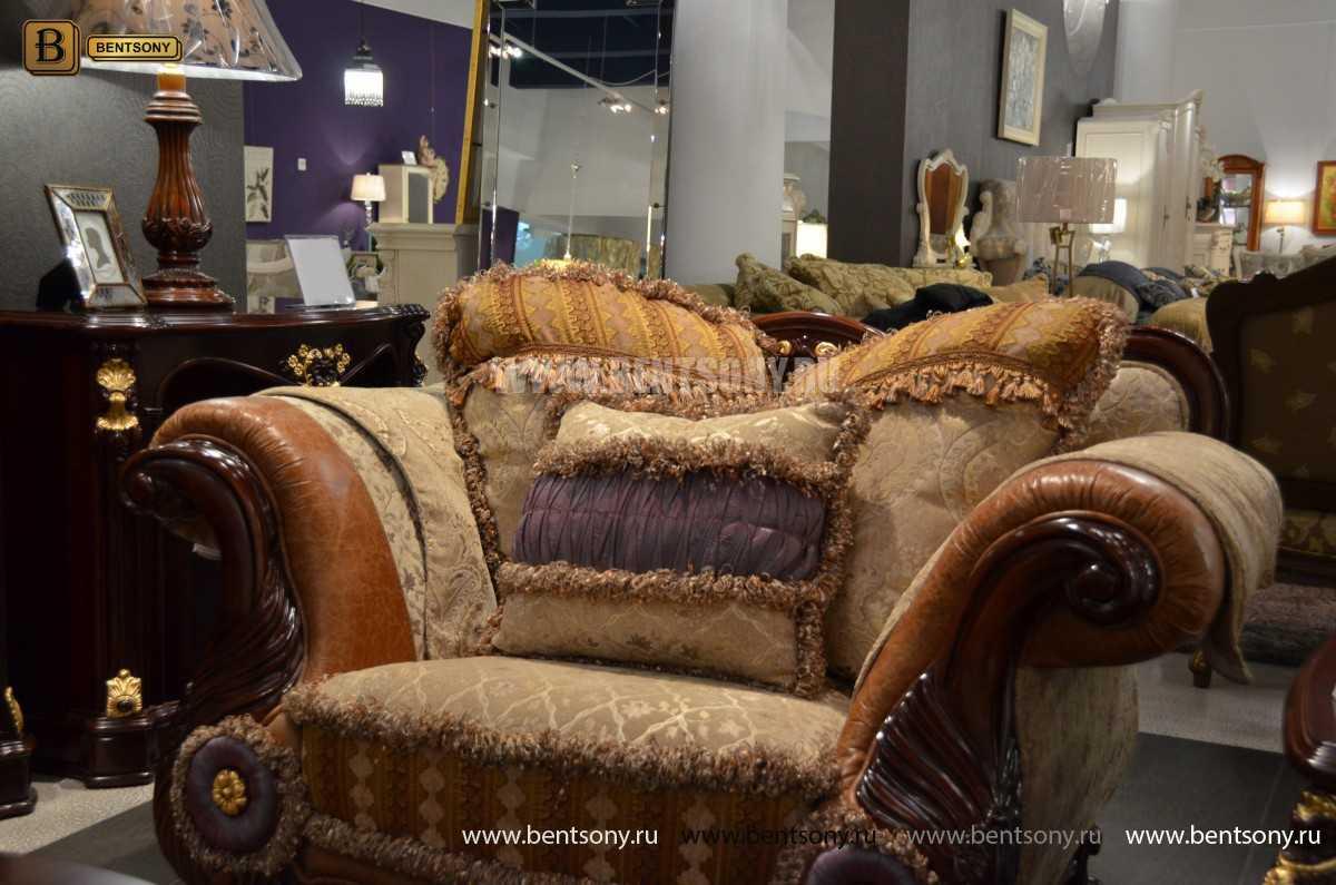 Кресло Вагнер С классическое (Подлокотники кожа) изображение