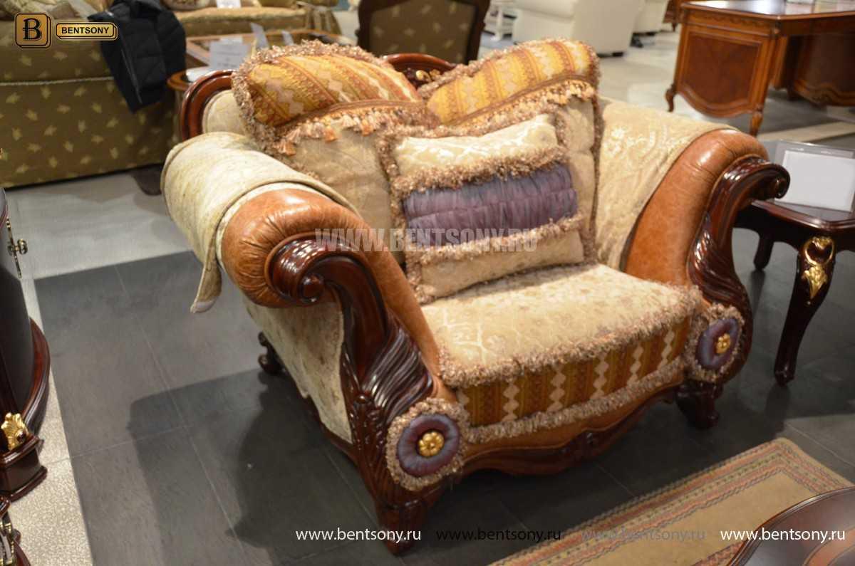 Кресло Вагнер С классическое (Подлокотники кожа) каталог