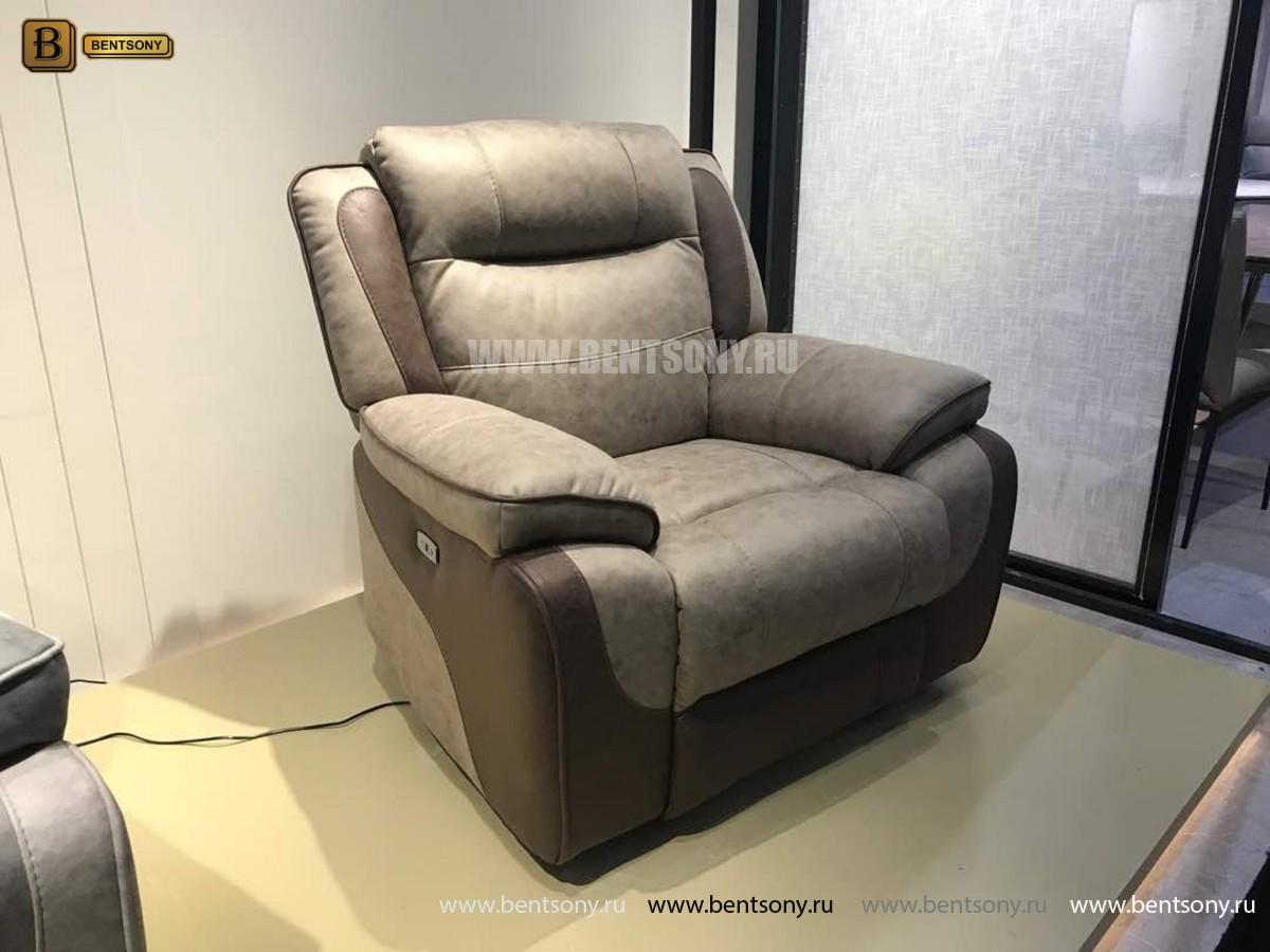 Кресло Фреско (Реклайнер, Натуральная Кожа, Ткань) каталог мебели