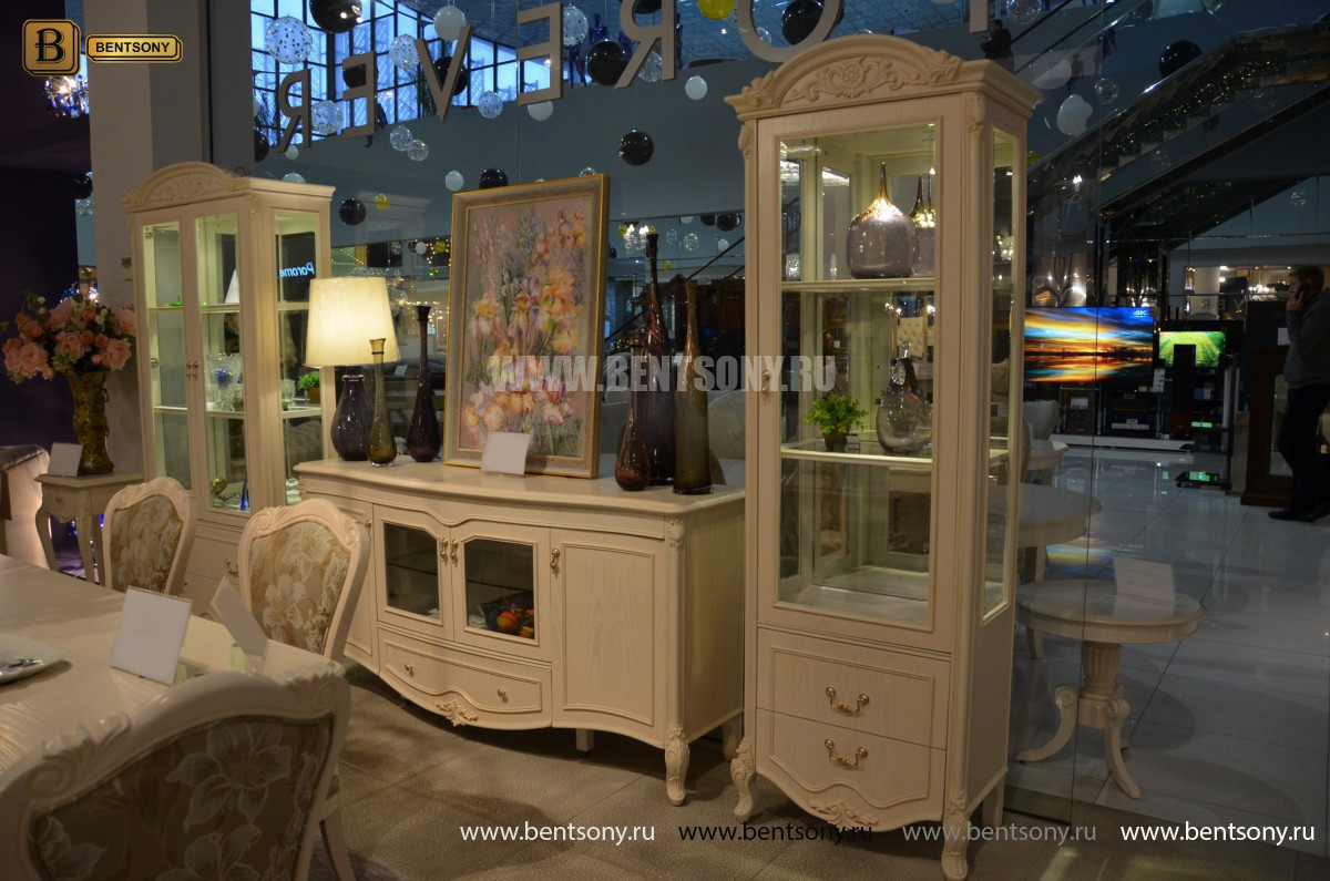 Комод Флетчер-W (Классика, массив дерева) каталог мебели