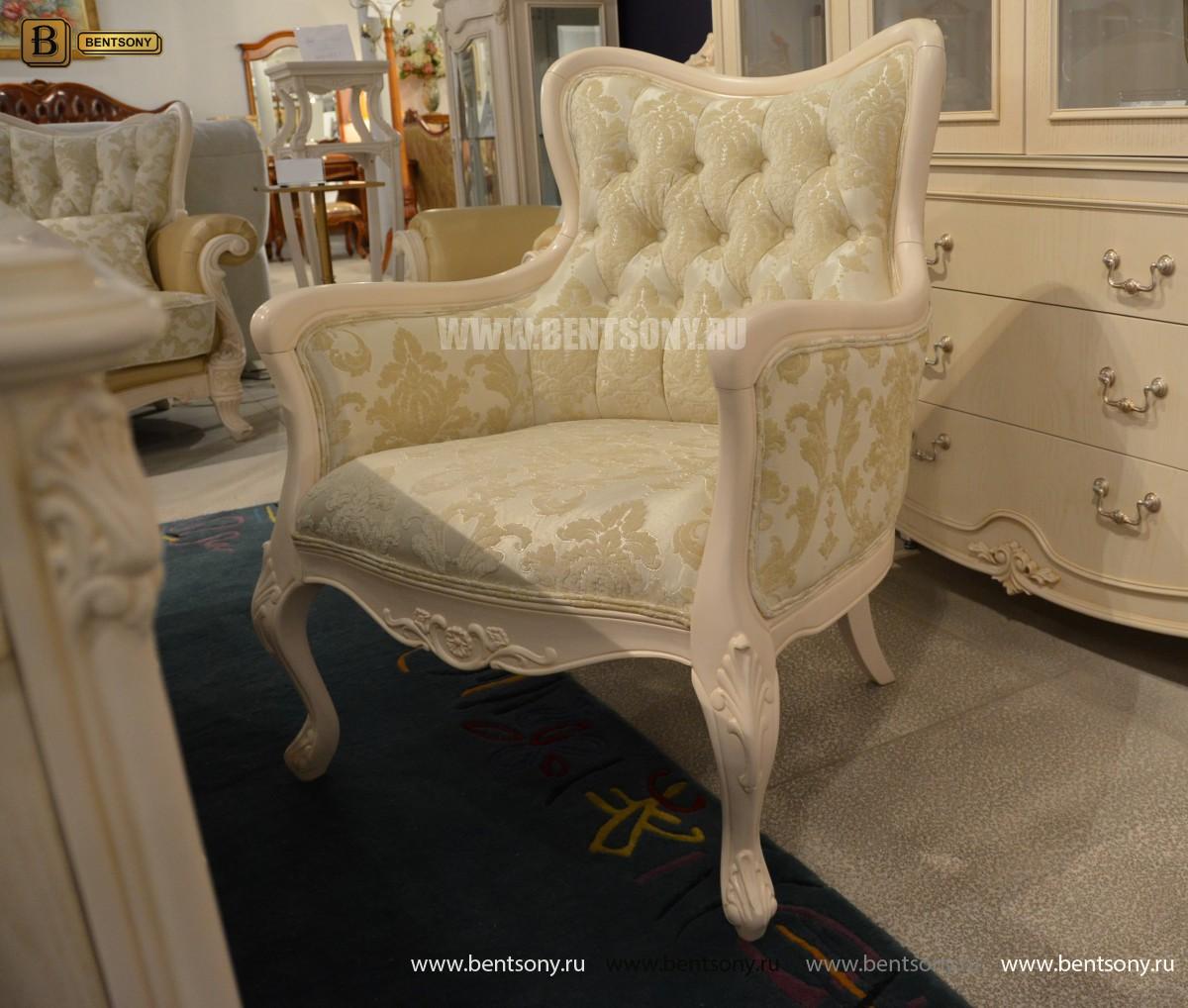 Кресло Флетчер-W (Классика, ткань)