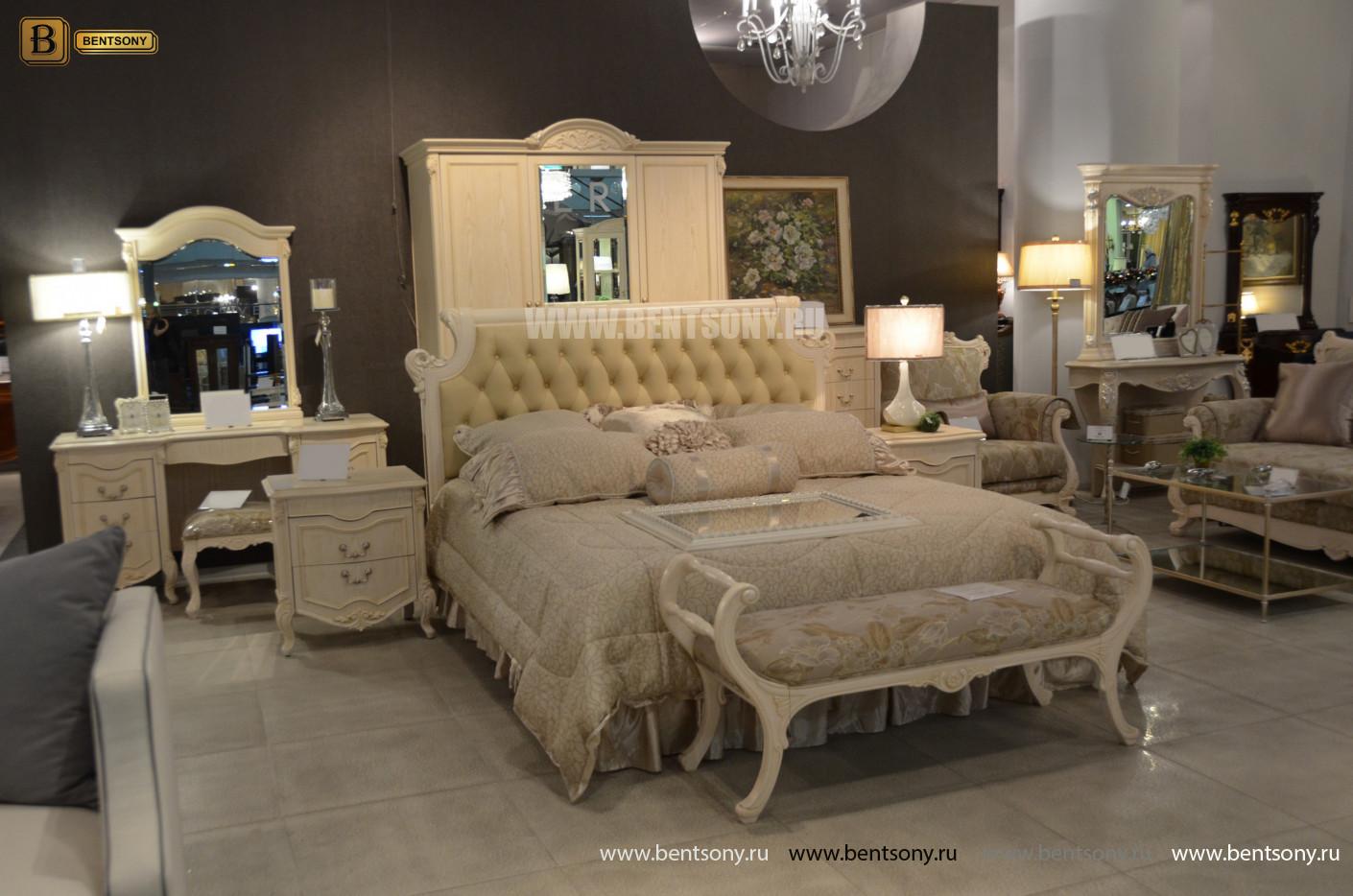 Кровать Флетчер-W D (Классика, Ткань) каталог мебели
