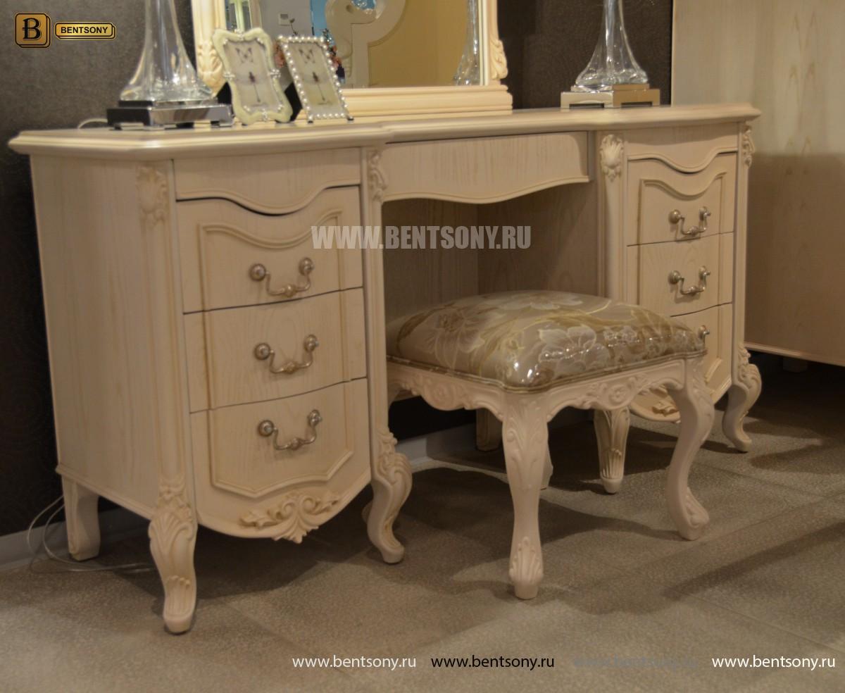 Стол туалетный Флетчер-W А с зеркалом (Классика, массив дерева) купить