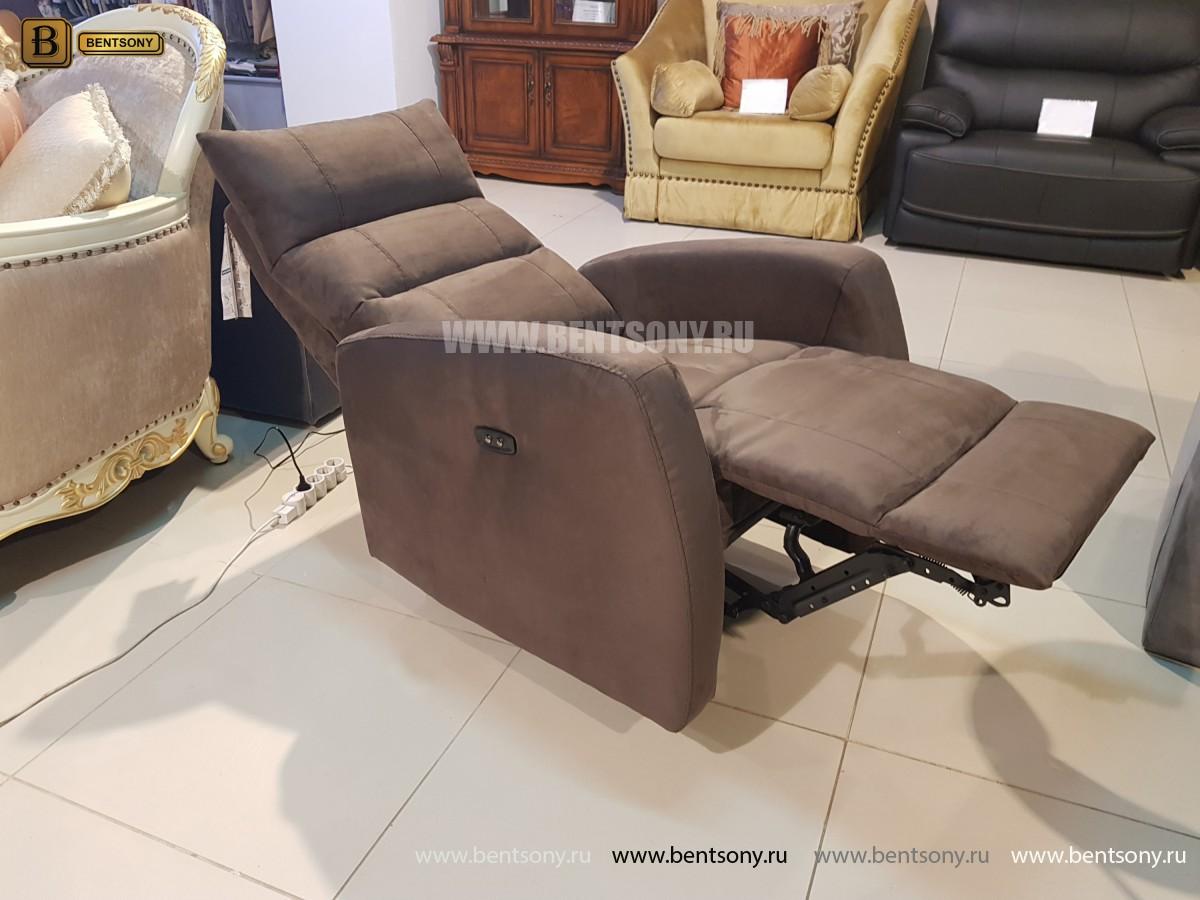 Кресло Лаваль (Реклайнер, Алькантара) для квартиры