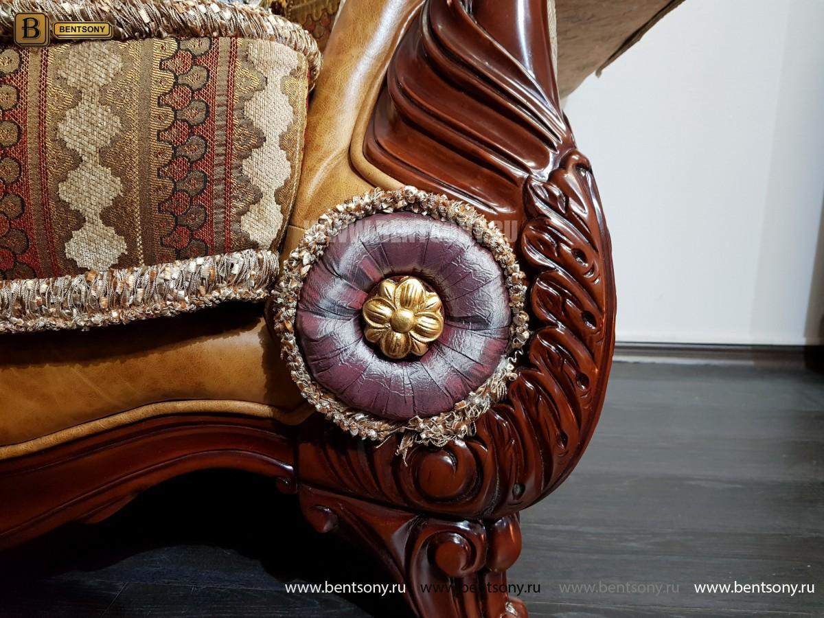 Кресло Вагнер С классическое (Подлокотники кожа) в интерьере