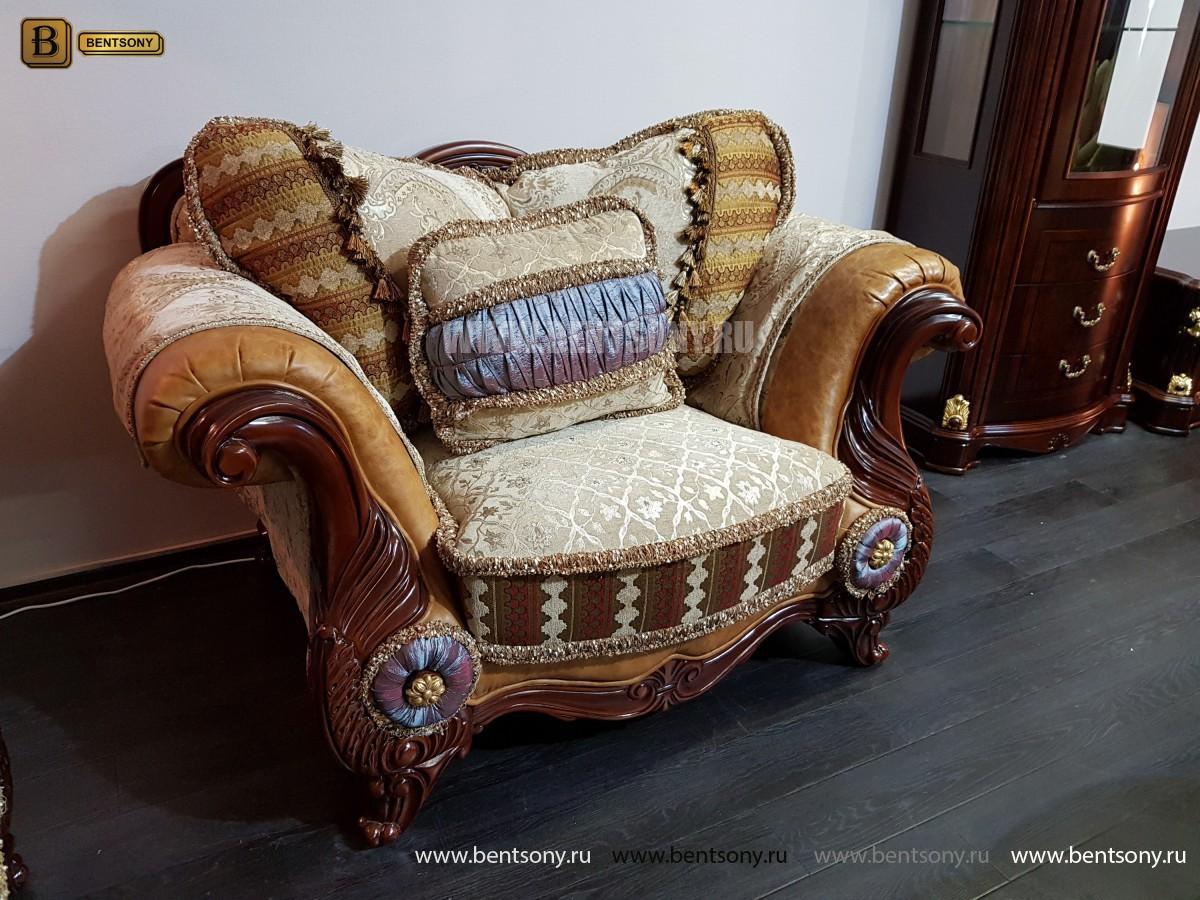 Кресло Вагнер С классическое (Подлокотники кожа) распродажа