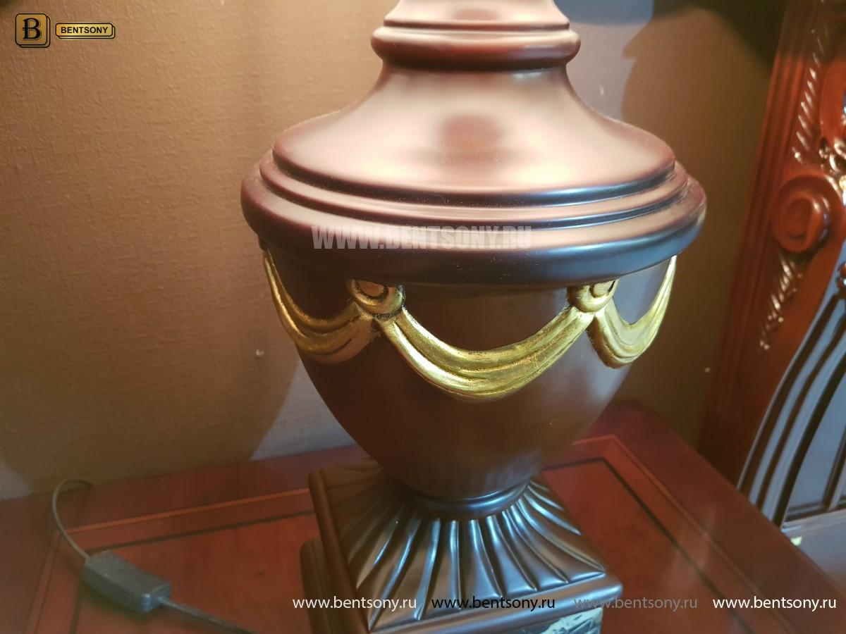Светильник настольный Вагнер (Классика, массив дерева) купить в СПб