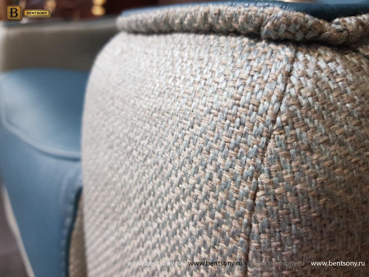Кресло Вердэ с реклайнером (Подъемный подголовник, Натуральная Кожа) каталог мебели с ценами