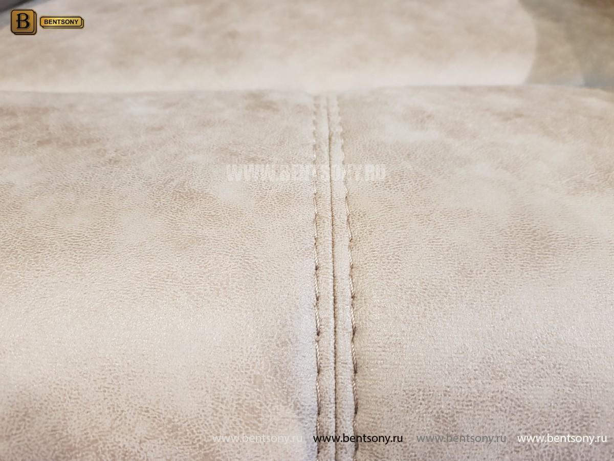 Кресло Прецо бургунди с реклайнером (Механизм качания, Ткань) в Москве