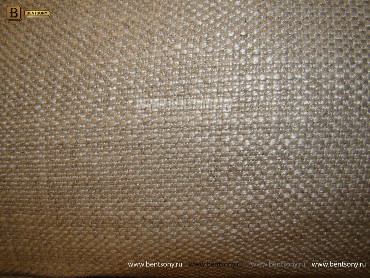 Диван Бениамино угловой с Пуфом, рогожка каталог