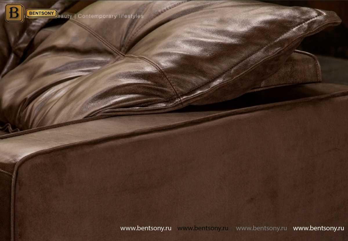 Диван Массимо (Винтаж, Натуральная кожа) официальный сайт цены