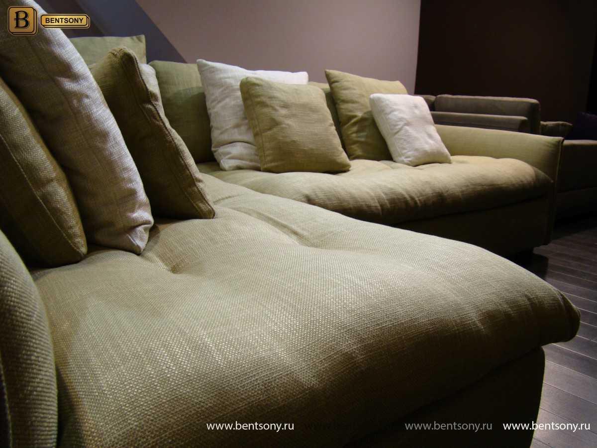 Уютный модульный диван Арлетто подушки