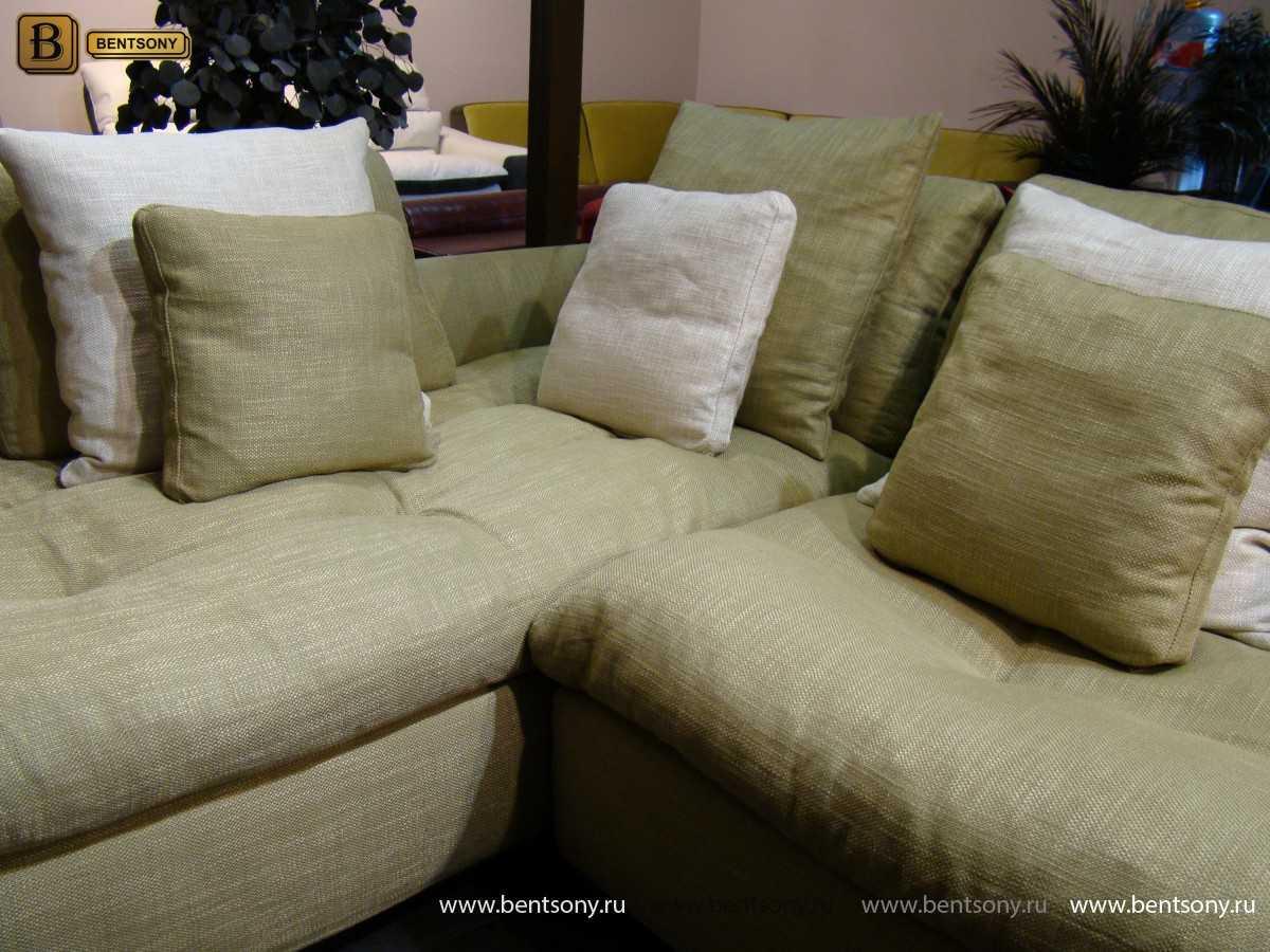 угловой тканевый диван купить москва