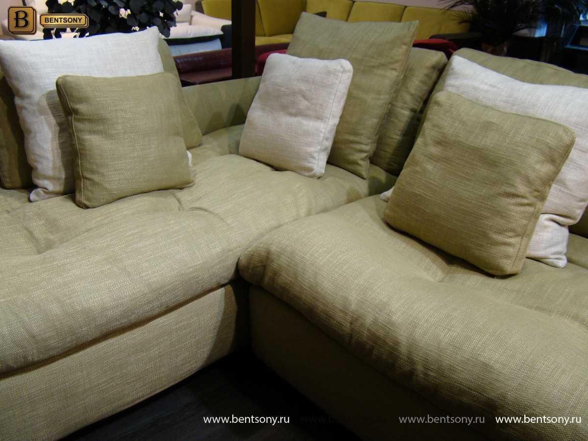 угловой тканевый диван купить спб