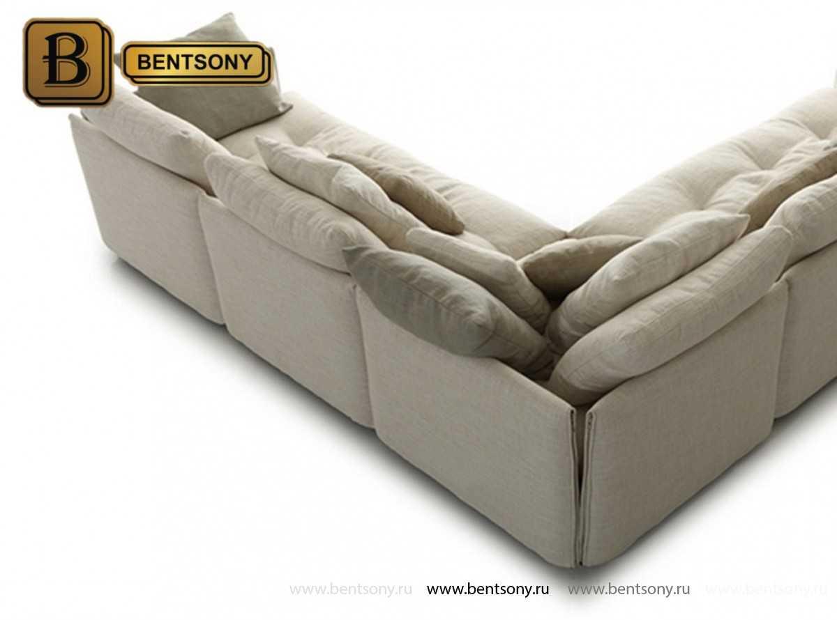 стильный угловой диван Арлетто