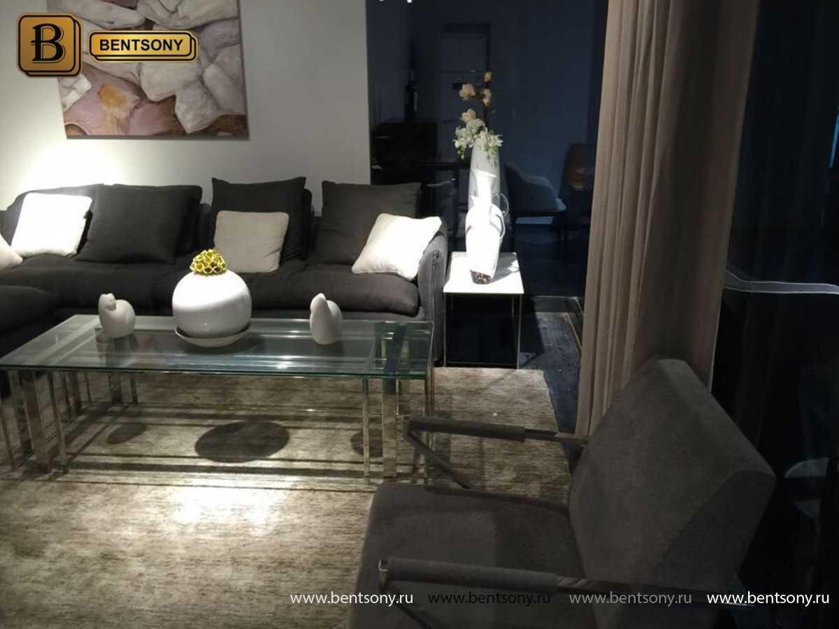 модульный угловой диван Арлетто серый