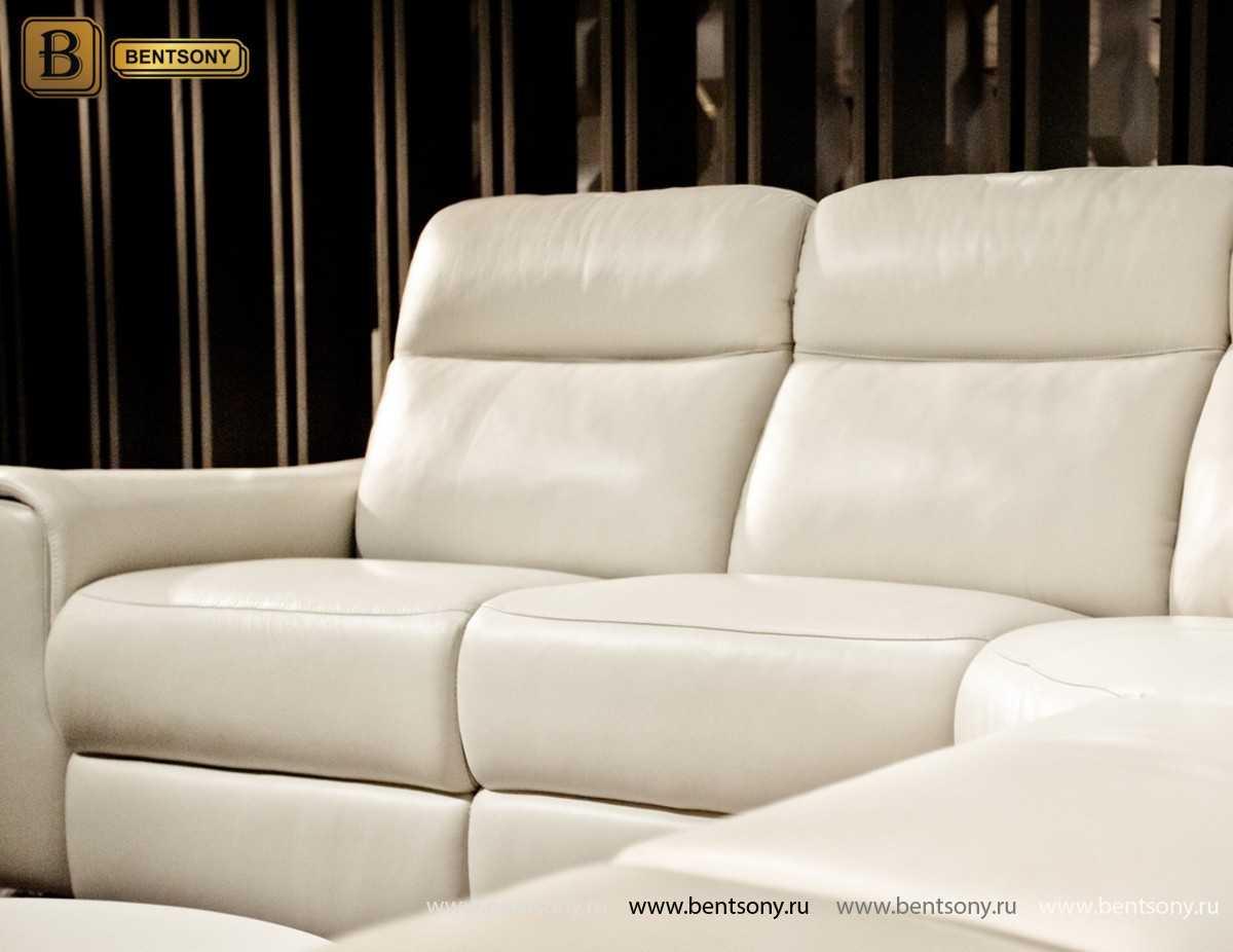 купить кожаный угловой диван Альфредо