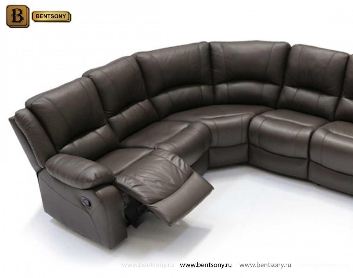 купить кожаный угловой диван Левис