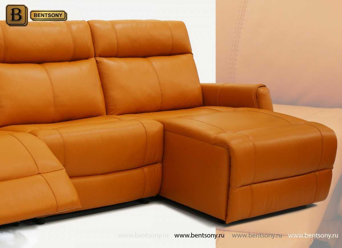 купить диван из натуральной кожи Грейс