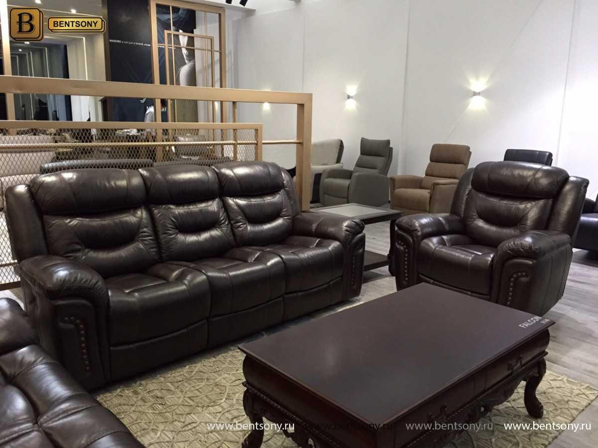 купить диван из натуральной кожи Фалькон