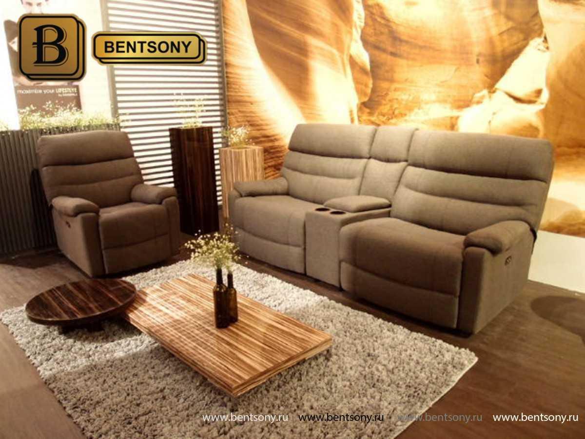 купить тканевый прямой диван Вердон