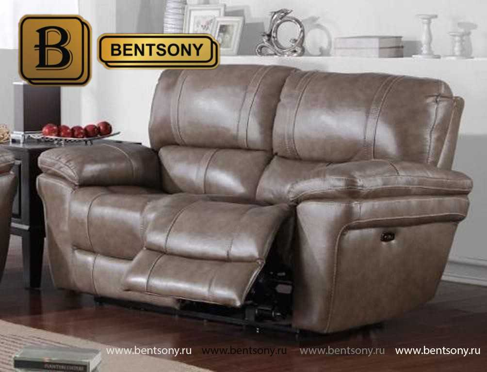кожаная мебель диван Марриот реклайнер