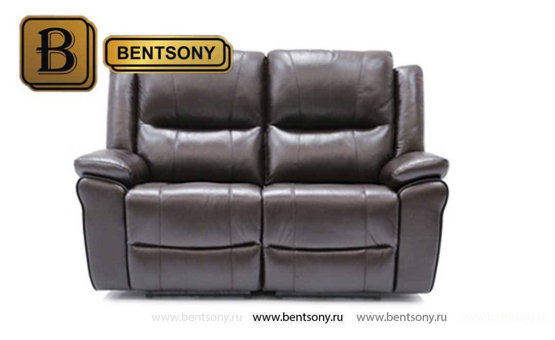 купить прямой кожаный диван Шарм