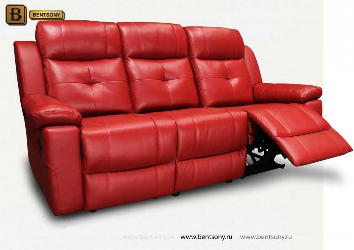купить диван Рубен из натуральной кожи