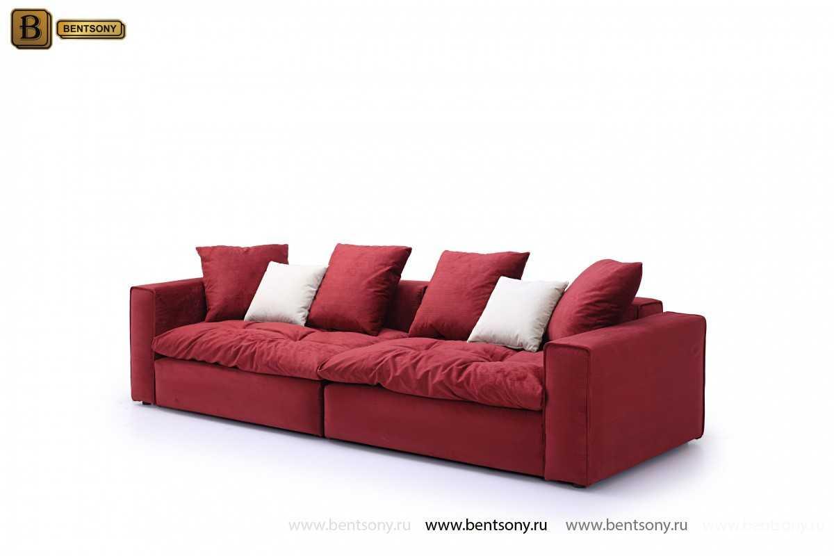 Подушки к дивану Beniamino красные и белые