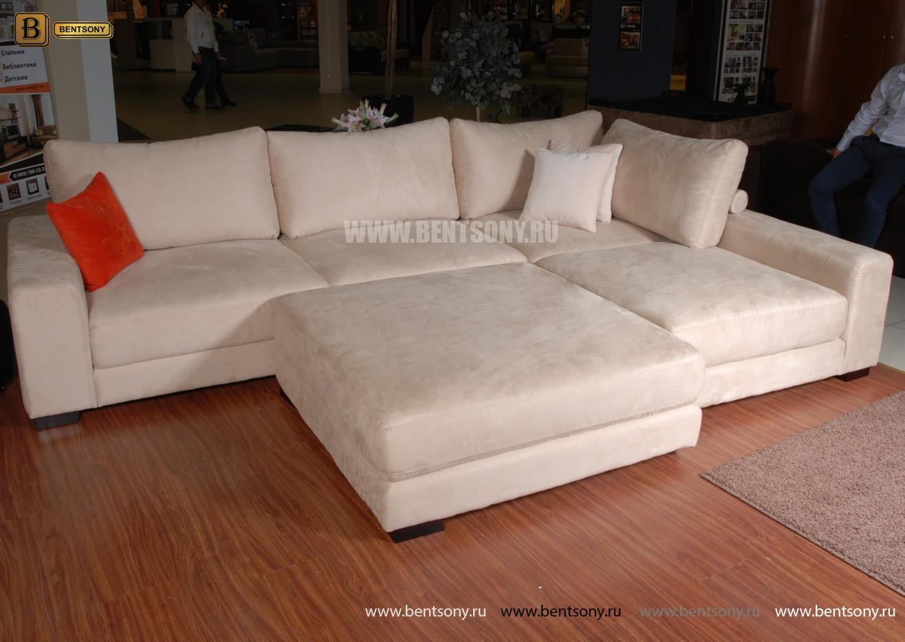 светлый модульный диван Луиджи для гостинной