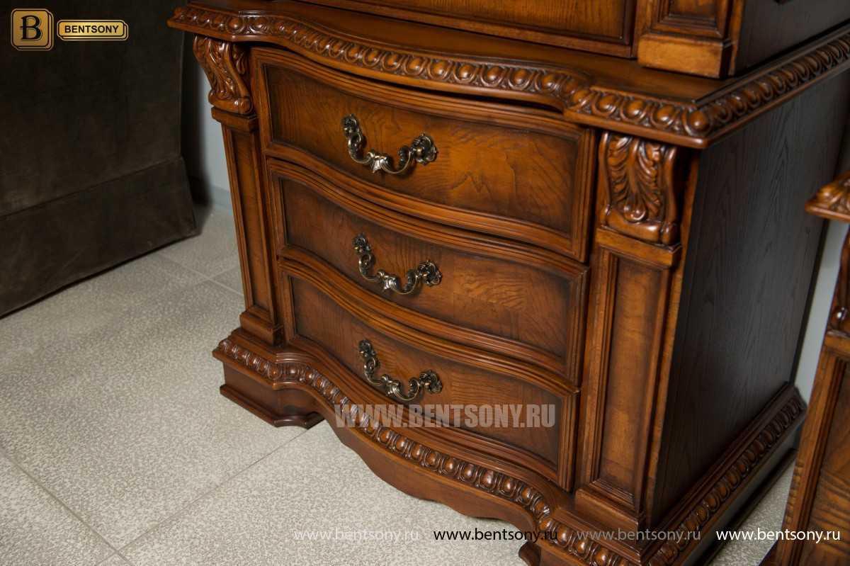 Стенка Монтана классическая (Массив дерева) каталог мебели